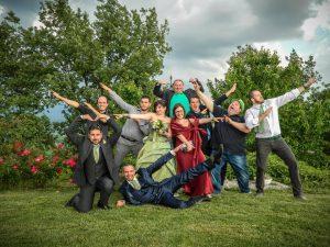 La fotografia più spassosa del matrimonio!